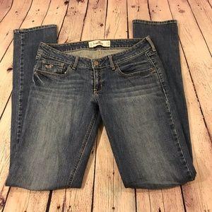 Hollister Women Skinny Jeans Size 7L Medium Washed